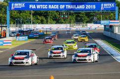 2015 FIA World Touring Car Championship Royalty Free Stock Photo