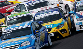 FIA WTCC race Royalty Free Stock Image