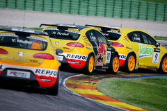 FIA WTCC race. In SPAIN,Circuit Valencia, May 18. 2008. SEAT Sport Stock Images