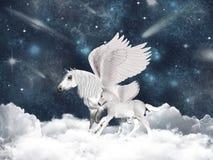 Fiaba del Pegasus Fotografia Stock Libera da Diritti