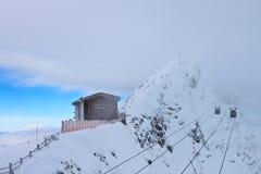 Fiaba di inverno nel Alpes Immagine Stock Libera da Diritti