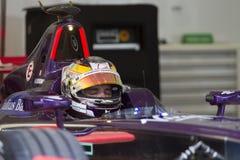FIA惯例E raceday布城,马来西亚 免版税库存图片