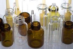 Fiale farmaceutiche III Fotografia Stock