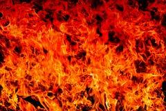 Fiamma astratta del fuoco della fiammata su struttura dell'ombra di pendenza per il backgrou Fotografia Stock