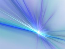 Fiamma blu scuro illustrazione vettoriale
