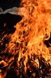 Fiamma bruciante del YE Fotografia Stock Libera da Diritti
