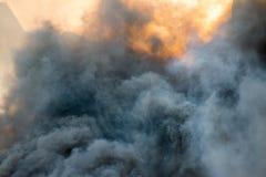Fiamma Burning del fuoco Fotografia Stock Libera da Diritti