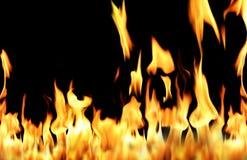 Fiamma del fuoco Immagine Stock