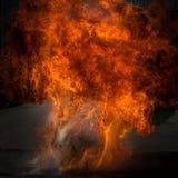 Fiamma del fuoco immagini stock libere da diritti