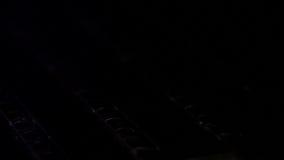 Fiamma del gas video d archivio