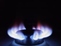 Fiamma del gas naturale Fotografia Stock Libera da Diritti