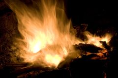Fiamma di fuoco Fotografie Stock Libere da Diritti