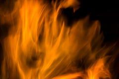 Fiamma di struttura del fuoco Immagine Stock Libera da Diritti