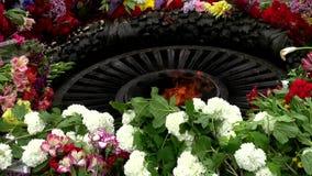 Fiamma eterna alle protezioni cadute del memoriale la patria archivi video