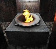 Fiamma eterna della fiamma Fotografia Stock Libera da Diritti