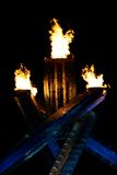 Fiamma olimpica Fotografia Stock