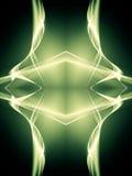 Fiamma verde royalty illustrazione gratis