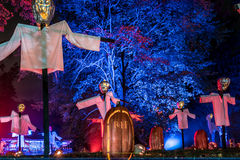 Fiammata di Halloween Immagine Stock Libera da Diritti
