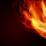 Fiamme astratte del fuoco Immagini Stock