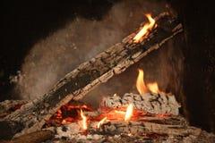 Fiamme del fuoco Fotografia Stock Libera da Diritti