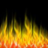Fiamme del fuoco illustrazione di stock