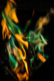 Fiamme del fuoco - 19 Fotografie Stock