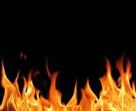 Fiamme del fuoco immagini stock