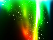 Fiamme del Rainbow illustrazione di stock