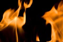 Fiamme di fuoco Immagine Stock Libera da Diritti