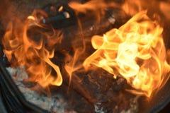 Fiamme o fuoco immagine stock