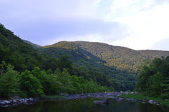 Fianco di una montagna di Maurey Fotografia Stock Libera da Diritti