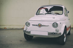 Fiat 500 — Abarth 695 Royaltyfria Foton