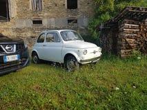 Fiat 500 royalty-vrije stock afbeelding