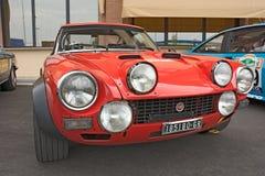 Fiat 124 Abarth samlar Royaltyfri Bild