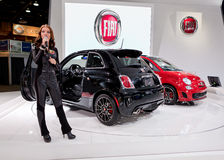 Fiat 2013 Abarth Fotografia de Stock Royalty Free