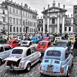 Fiat 500 Photographie stock
