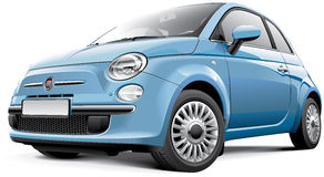 Fiat 500 Photo stock