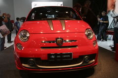 Fiat 500 abarth Royalty Free Stock Image