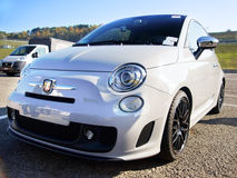 Fiat 500 Abarth Stock Image
