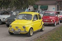 Fiat 500 Abarth Arkivbild