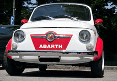 Fiat 500 abarth Stock Photo