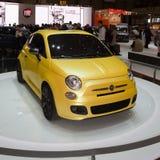 Fiat 500 Concept Zagato - de Show van de Motor van Genève 2011 Royalty-vrije Stock Foto's