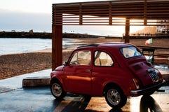 Fiat 500 för Sicilia Oktober 09 minibil 2011 Fotografering för Bildbyråer