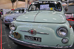 Fiat 500 Italy Club Stock Image