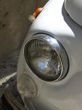 Fiat 500 koplamp Royalty-vrije Stock Foto's