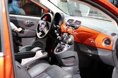 FIAT 500 Lounge Royalty Free Stock Photo