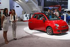 FIAT 500 Lounge Stock Photo