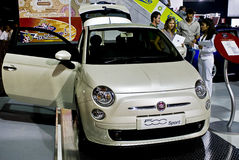 Fiat 500 Sport - MPH Royalty Free Stock Image