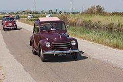 Fiat 500 Topolino Royaltyfri Bild