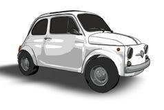 Fiat 500 (vetor) Ilustração Royalty Free